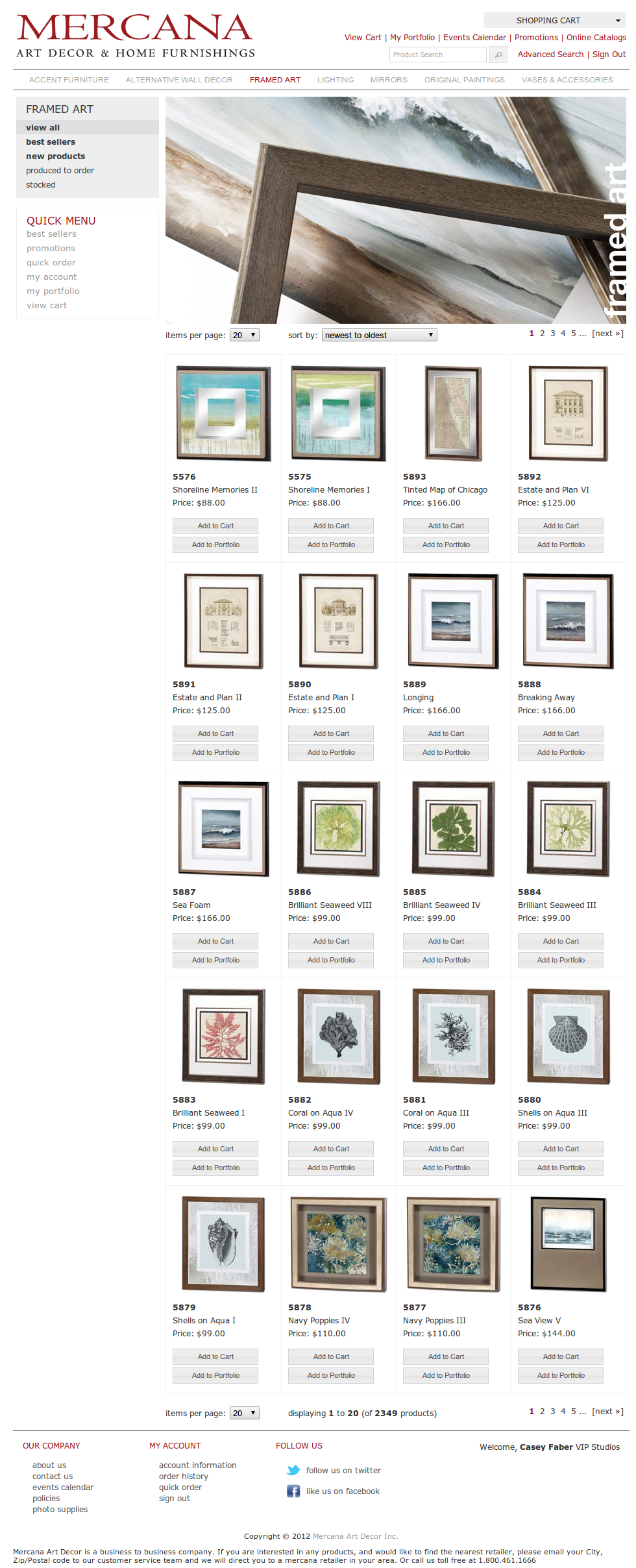 Framed Art | Mercana Art Decor & Home Furnishings