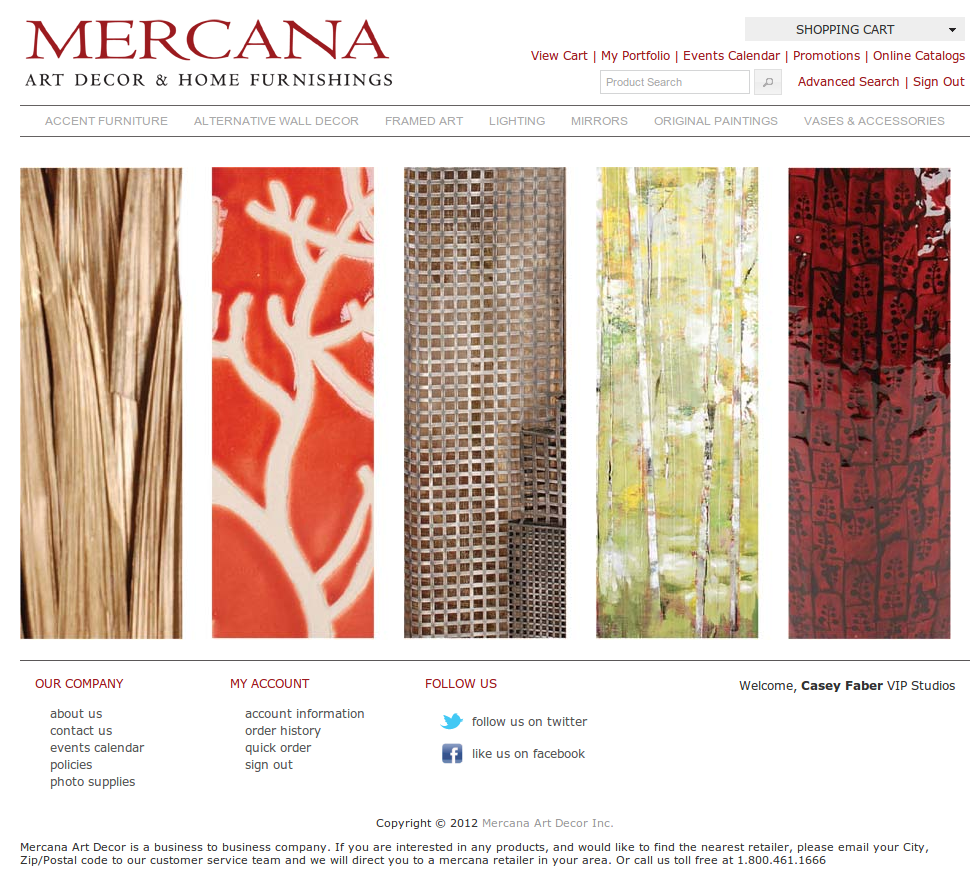 Mercana Art Decor & Home Furnishings