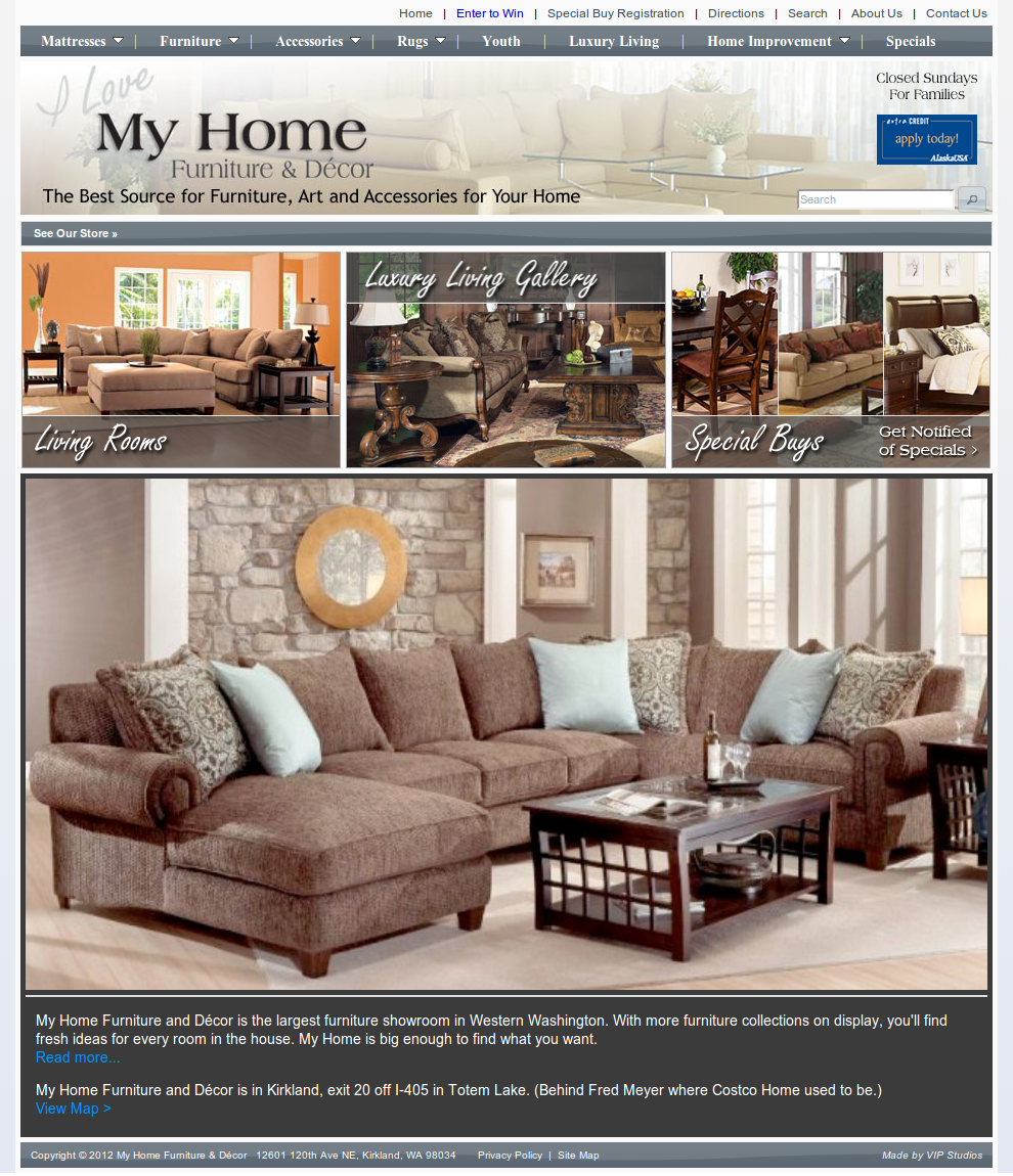 vip media services 187 my home furniture amp d 233 cor home decor responsive website template 49598