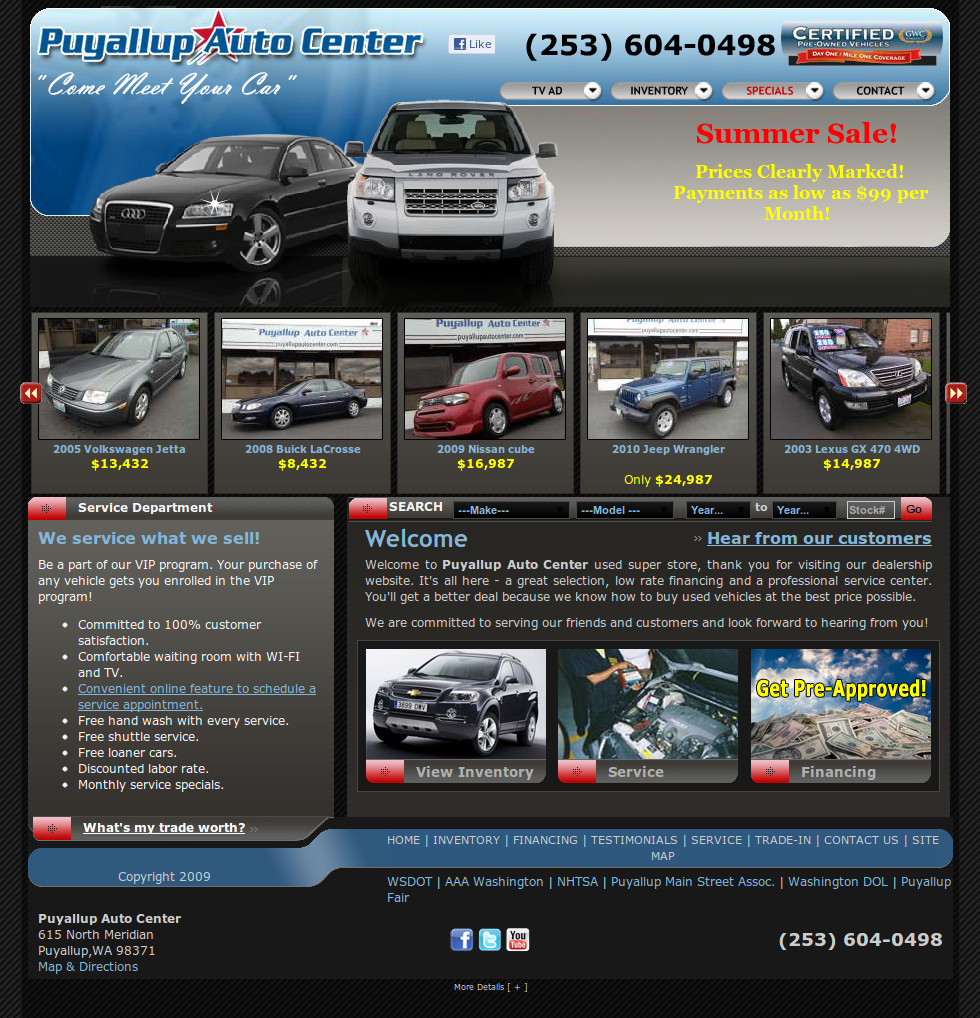 Puyallup Auto Center