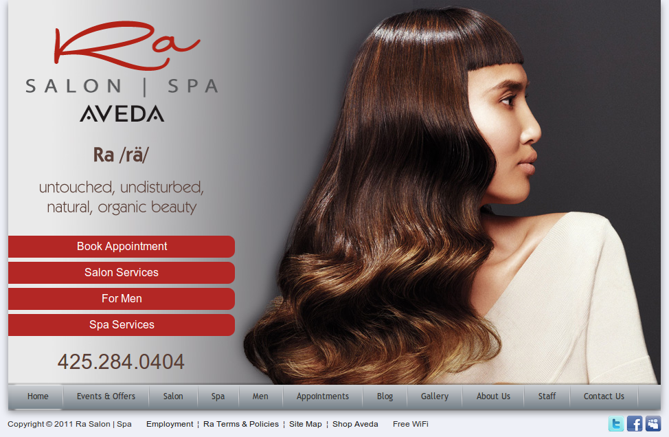 Ra Salon |  Spa - An Aveda Salon