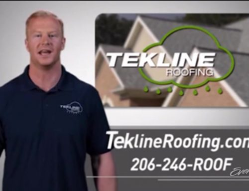 TekLine roofing shoot at VIP studios with Jon Ryan punter for the hawks